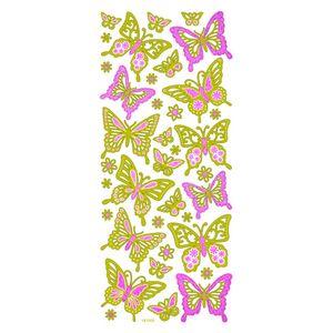 Adesivo-Fashion-cGlitter-Borboletas-AD1361-TEC--10156-