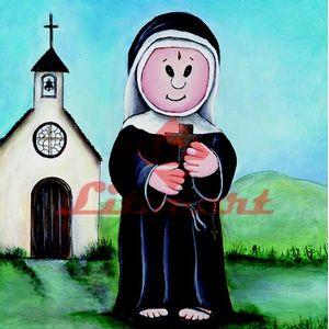 Papel-Decoupage-Religioso-Arte-Francesa-Quadrado-LFQ-64-Litocart-