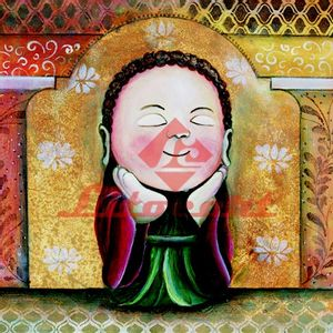 Papel-Decoupage-Religioso-Arte-Francesa-Quadrado-LFQ-69-Litocart