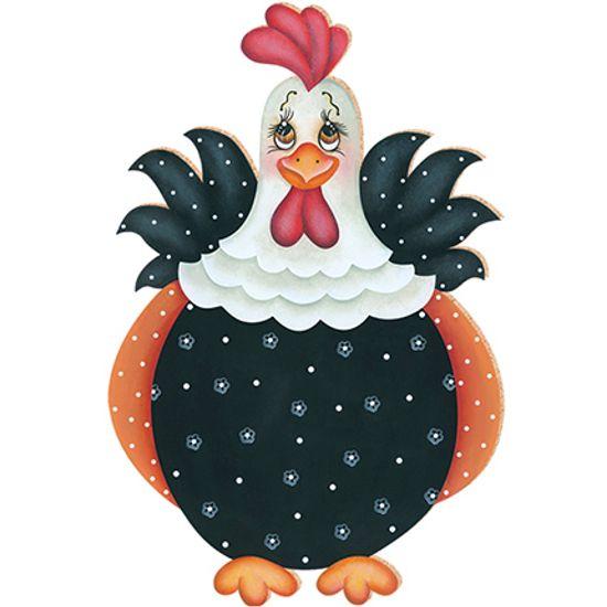 Decoupage aplique em papel e mdf galinha apm8 060 litoarte - Papel decoupage infantil ...