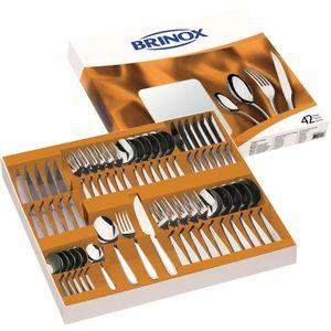 Faqueiro-Solaris-42-pecas-Aco-Inox-5107-103---Brinox
