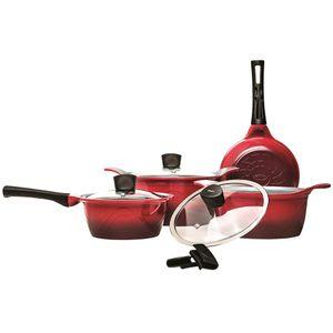 Conjunto-de-Panelas-4-Pecas-Colour-Cook-Vermelho-4783-100---Brinox-