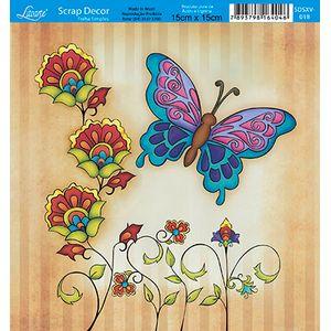Papel-Scrap-Decor-Folha-Simples-15x15-Flores-SDSXV-018---Litoarte