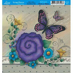 Papel-Scrap-Decor-Folha-Simples-15x15-Flores-SDSXV-014---Litoarte-