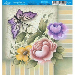 Papel-Scrap-Decor-Folha-Simples-15x15-Flores-SDSXV-013---Litoarte