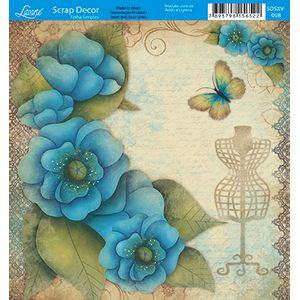 Papel-Scrap-Decor-Folha-Simples-15x15-Flores-SDSXV-008---Litoarte