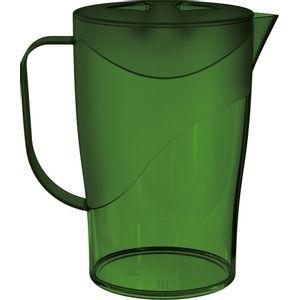 Jarras-2L-Verde-Escuro-em-Poliestireno-UZ109-VES---UZ-Utilidades