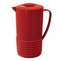 Jarras-Plus-2L-Vermelho-Solido-em-Polipropileno-UZ158-VM---UZ-Utilidades