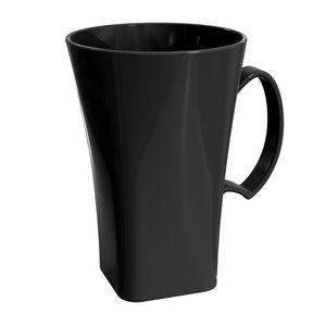 Caneca-Cappuccino-Plus-400L-Preta-em-Polipropileno-UZ161-PR---UZ-Utilidades
