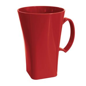 Caneca-Cappuccino-Plus-400L-Vermelha-em-Polipropileno-UZ161-VM---UZ-Utilidades