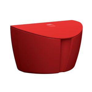Saleiro-com-Tampa-Vermelho-Solido-em-Polipropileno-UZ145-VM---UZ-Utilidades