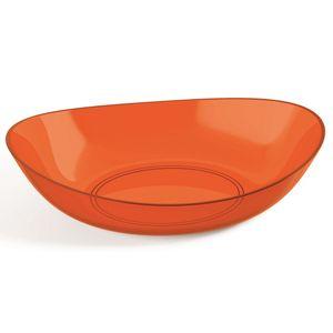 Saladeira-Oval-4L-Plus-Laranja-em-Poliestireno-UZ170-LA---UZ-Utilidades