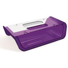 Porta-Frios-Roxo-com-tampa-Transparente-em-Poliestireno-UZ173-RX---UZ-Utilidades