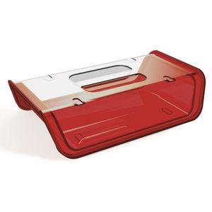 Porta-Frios-Vermelho-com-tampa-Transparente-em-Poliestireno-UZ173-VM---UZ-Utilidades