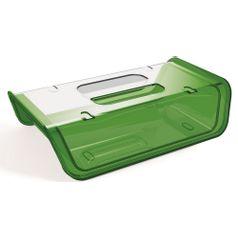 Porta-Frios-Verde-Escuro-com-tampa-Transparente-em-Poliestireno-UZ173-VES---UZ-Utilidades