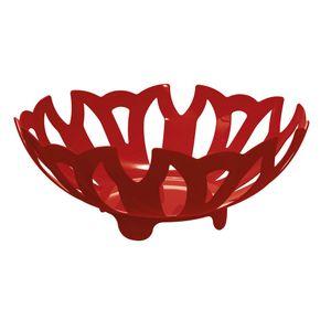 Fruteira-Plus---Centro-de-Mesa-Vermelho-em-Polipropileno-UZ328-VM---UZ-Utilidades