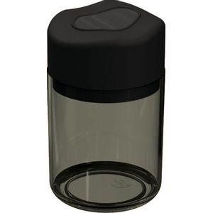 Porta-Algodao-e-Cotonetes-Preto-Translucida-em-Poliestireno-UZ502-PR---UZ-Utilidades
