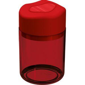 Porta-Algodao-e-Cotonetes-Vermelho-Translucida-em-Poliestireno-UZ502-VM---UZ-Utilidades