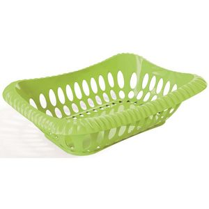 Fruteira---Cesta-Vazado-Verde-Claro-em-Polipropileno-UZ331-VCL---UZ-Utilidades-