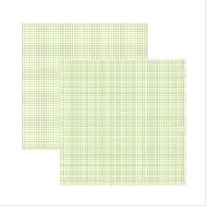 Scrap-Basico-Verde-Bebe-FB-Xadrez-Duplo-KFSB303-Toke-e-Crie-