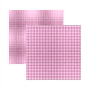 Scrap-Basico-Pink-FB-Xadrez-Duplo-KFSB301-Toke-e-Crie