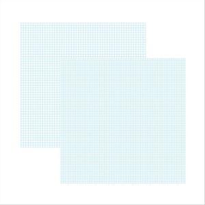 Scrap-Basico-Azul-Bebe-FB-Xadrez-Duplo-KFSB300-Toke-e-Crie-