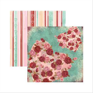 Papel-Scrapbook-Cupido-Rosas-SDF404-Toke-e-Crie