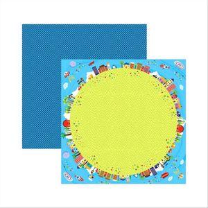Papel-Scrapbook-Brincadeira-de-Menino-Planeta-SDF388-Toke-e-Crie