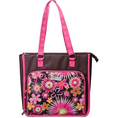 48573fc20 Bolsa Organizadora Fashion Floral Rosa Floral.