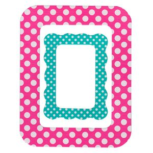 Molduras-Decoradas-Adesivas-Pink-Poa-MDA005---Toke-e-Crie