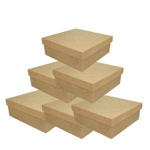 caixa-tampa-de-sapato-baixa-14x14-kit-com-100