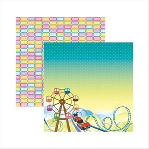 Papel-Scrapbook-DF-Parque-Montanha---Russa-SDF414-Toke-e-Crie