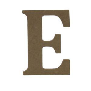 Enfeite-de-Mesa-Letra--E--12cm-x-18mm---Madeira-MDF