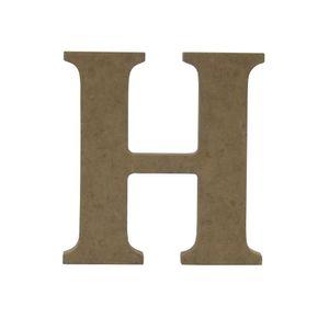 Enfeite-de-Mesa-Letra--H--12cm-x-18mm---Madeira-MDF
