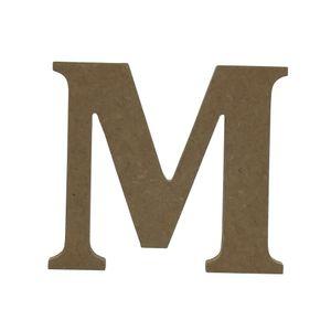 Enfeite-de-Mesa-Letra--M--12cm-x-18mm---Madeira-MDF