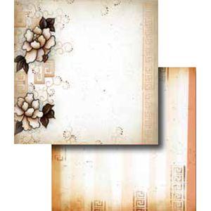 Papel-Scrapbook-Duplo-Flores-LSCD-242-Litocart