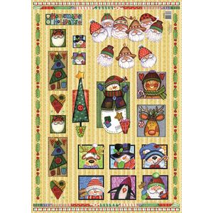 Papel-Decoupage-Natal-Country-DFG364N---Toke-e-Crie
