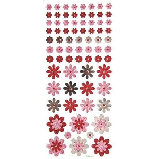 Adesivo-Glitter-Flores-Estilizadas-AD1470---Toke-e-Crie