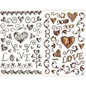 Adesivo-Puffy-Metalico-Amor-Vintage-2-Cartelas-AD1505---Toke-e-Crie