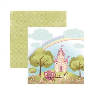 Papel-Scrapbook-Princesa-Encantada-Paisagem-SDF466---Toke-e-Crie