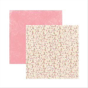 Papel-Scrapbook-Princesa-Encantada-Jardim-SDF469---Toke-e-Crie