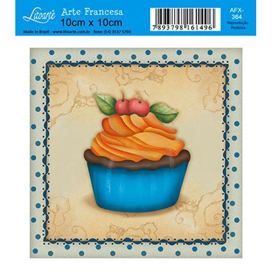 Decoupage-Adesiva-Litoarte-Cup-Cake-AFX-364---Litoarte-