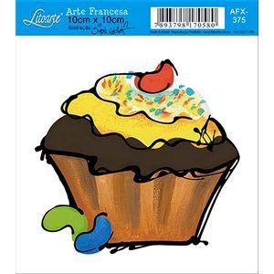 Decoupage-Adesiva-Litoarte-Cup-Cake-AFX-375---Litoarte