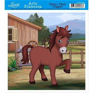 Papel-Arte-Francesa-Cavalo-AFXV-063---Litoarte