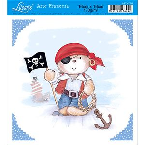 Papel-Arte-Francesa-Litoarte-Pirata-AFXV-109---Litoarte-