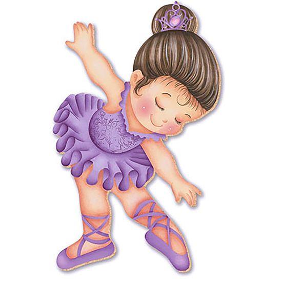 Decoupage aplique em papel e mdf bailarina apm8 220 - Papel decoupage infantil ...