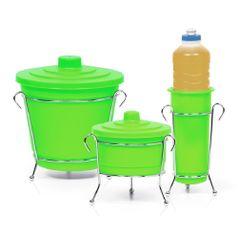 Kit-para-Pia-Cromo-Colors-3-pecas-Verde-301-3---Niquelart