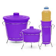 Kit-para-Pia-Cromo-Colors-3-pecas-Lilas-301-8---Niquelart