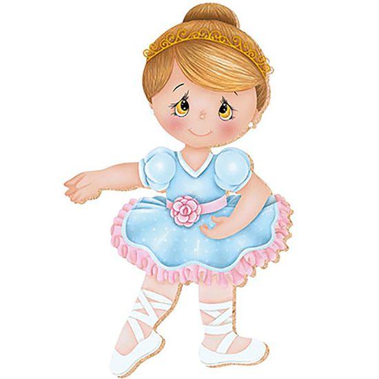 Decoupage aplique em papel e mdf bailarina apm8 249 - Papel decoupage infantil ...