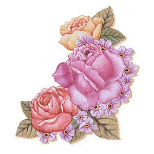 Decoupage-Aplique-em-Papel-e-MDF-Flor-APM8-253---Litoarte-